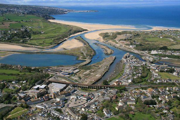 The Hayle Harbour area where Carillion completed the £16 million North Quay infrastructure project in 2013